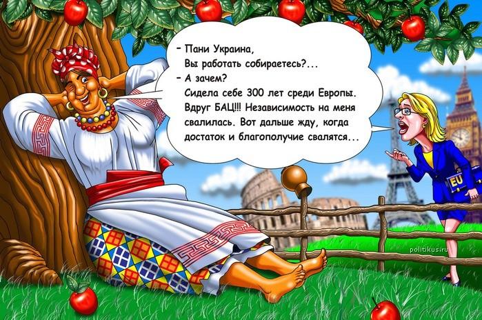 Прикольное поздравление на украинском языке
